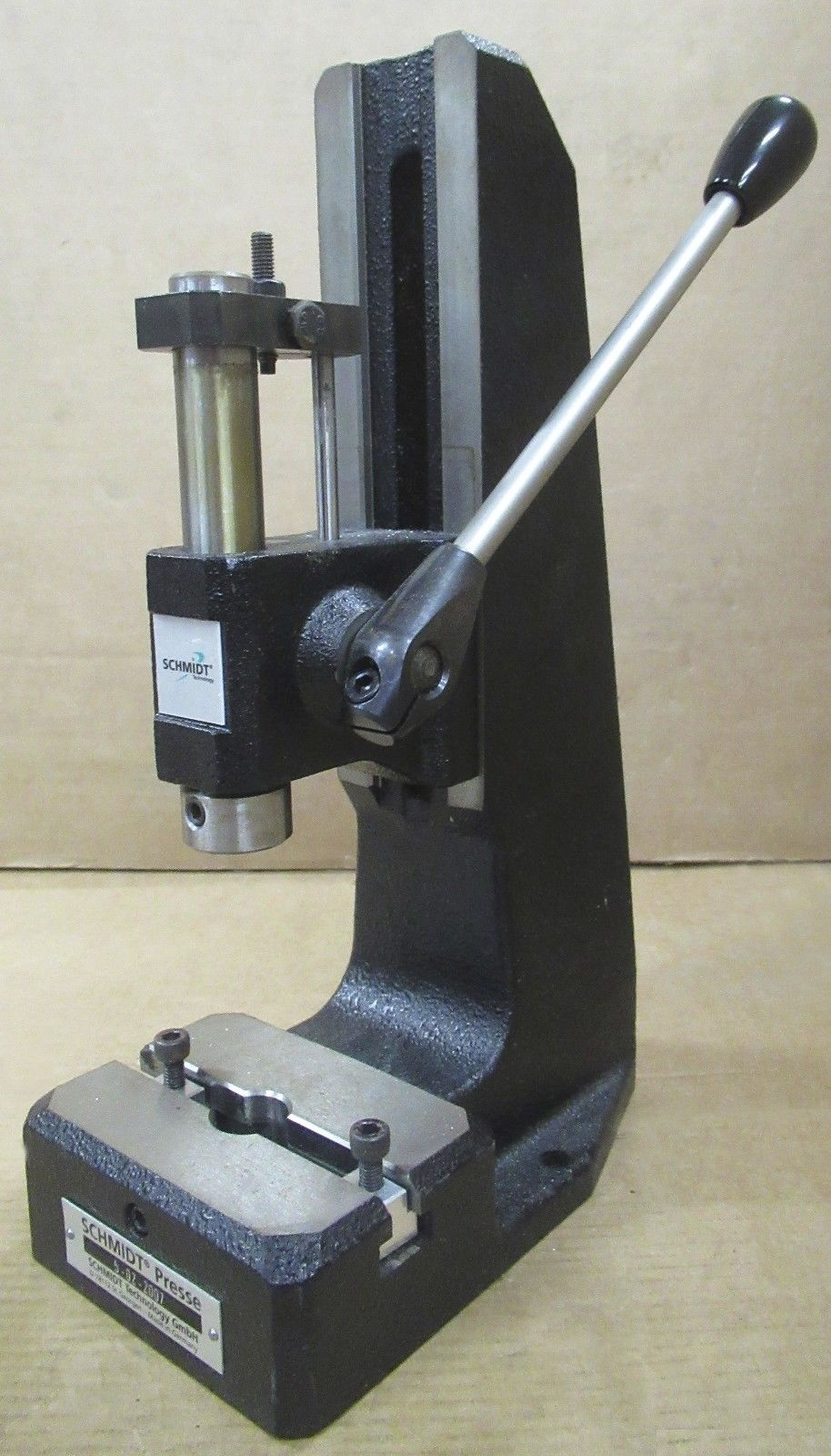 Schmidt 5 02 2007 Rack And Pinion Manual Hand Press Work